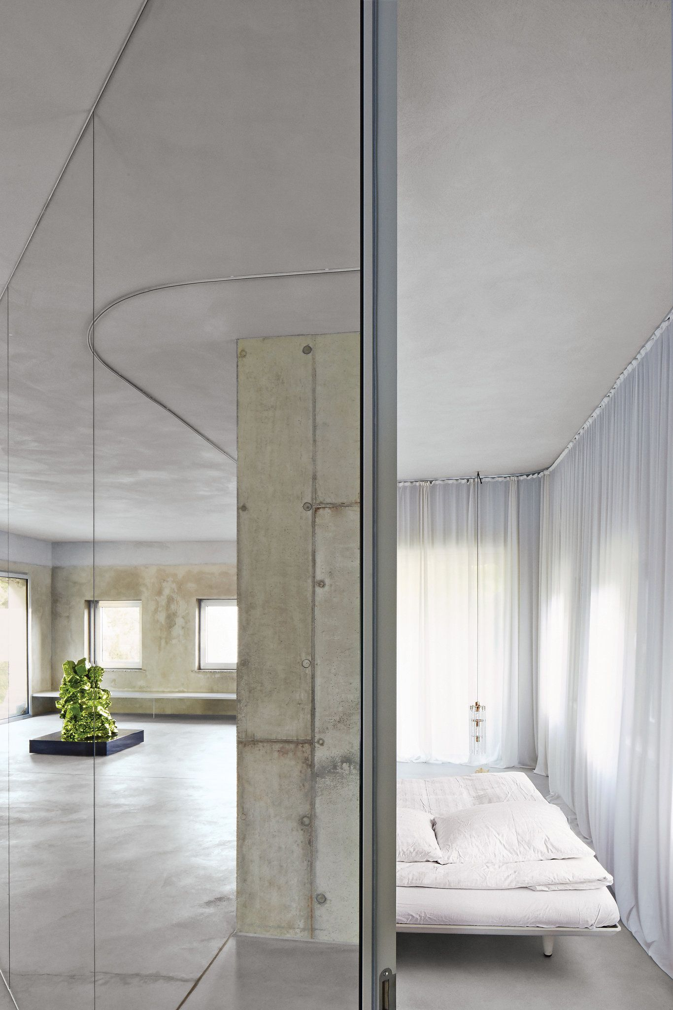 In a quaint bourgeois german town one architects concrete villa stands as a striking and unexpectedly elegant reminder of germanys cold war past