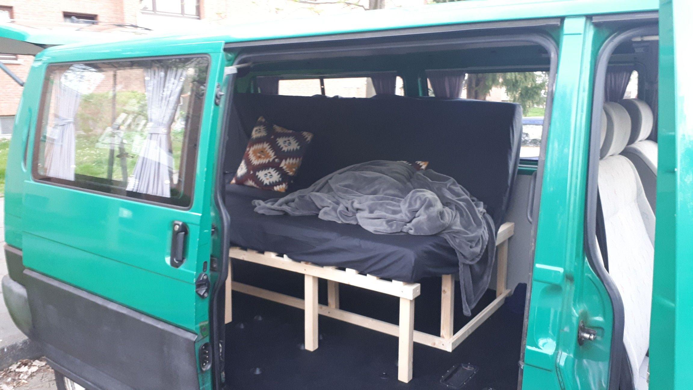 klappbett campingbus bausatzmodule systemk chen und. Black Bedroom Furniture Sets. Home Design Ideas