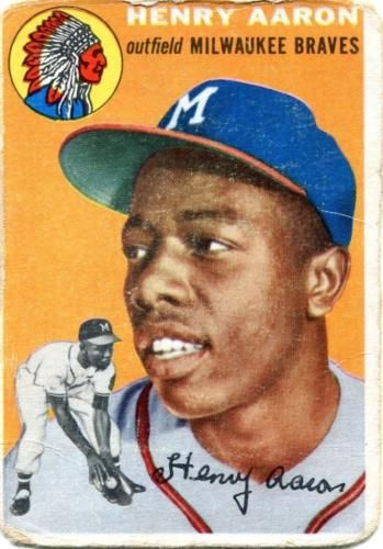 The 1954 Topps Hank Aaron Rookie Card Isnt Just His Most
