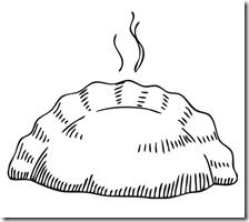Empanada Empanadas Dibujo Chile Para Ninos Dibujos Para Colorear