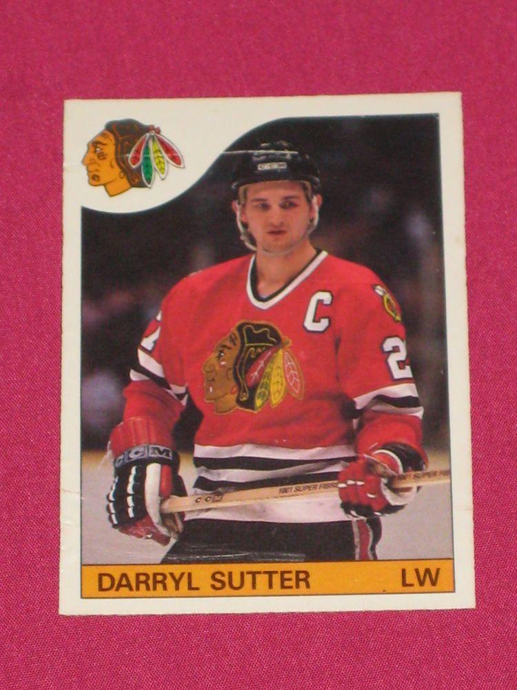 198586 100 Darryl Sutter, OPeeChee OPC, Chicago