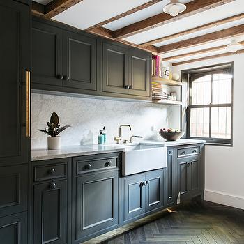 Dark Grey Kitchen Cabinets   Google Search Photo