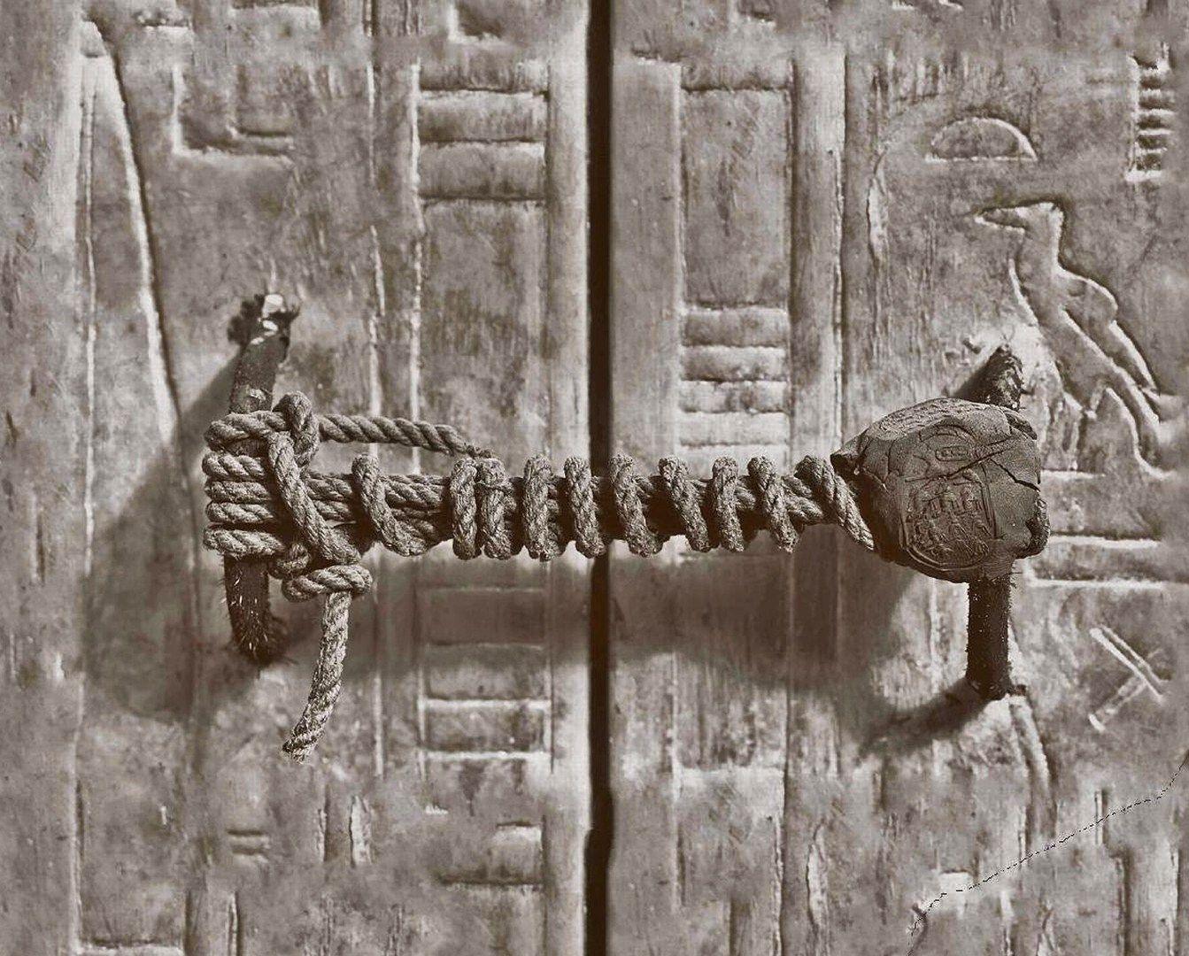 Unbroken Seal On Tutankhamun Tomb 3245 Years Untouched In