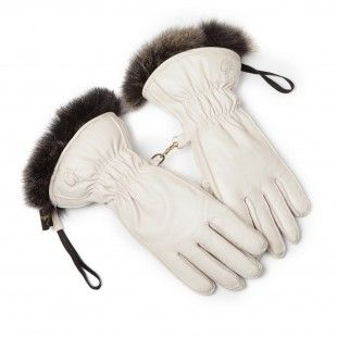 Cornelia James possum fur lined leather ski gloves will keep you cosy in  the couloirs. Finest napa leather fully lined with possum and with an even  thicker ... da47ab08f
