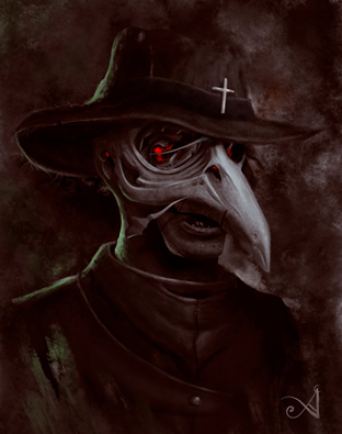 Pin On Plague Doctor