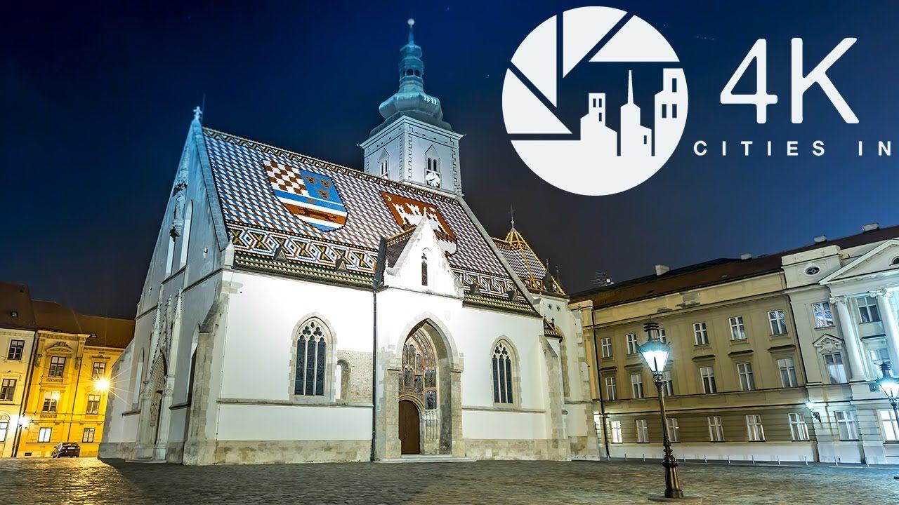Zagreb In 4k Zagreb Croatia City