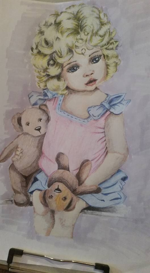 Coloured By Cazzie Wood. I thinks it is cute.