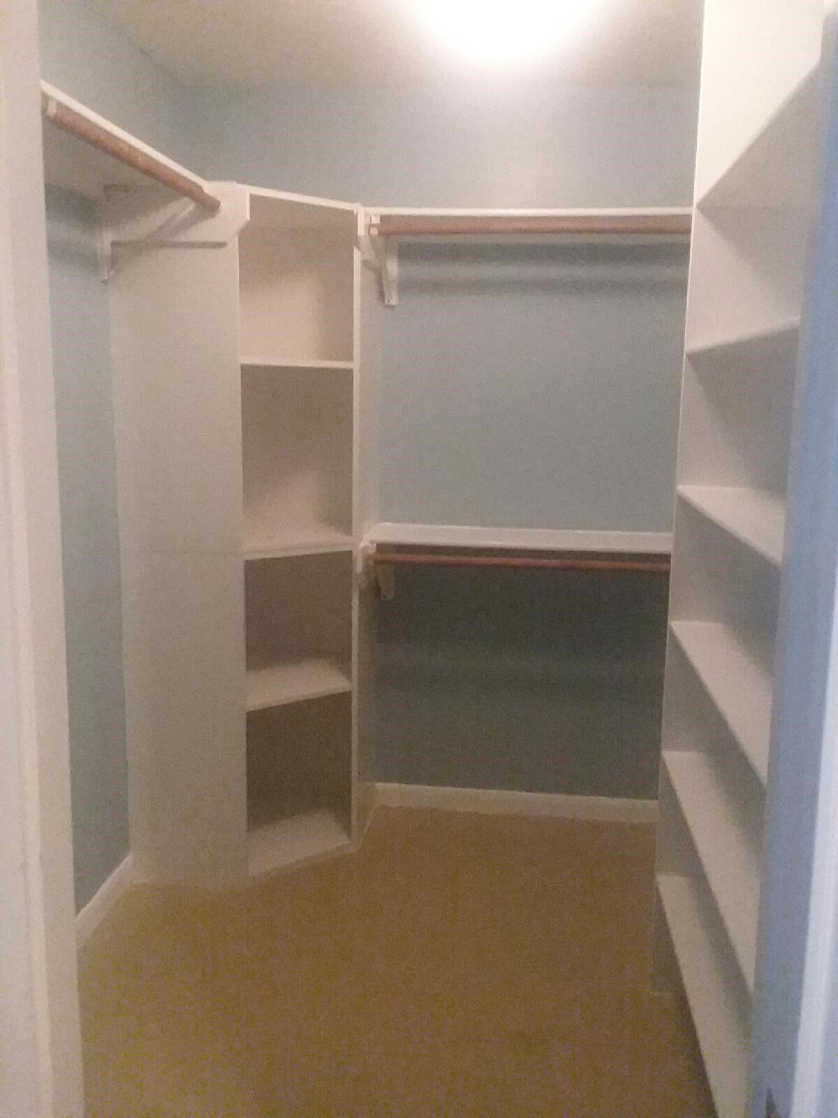 Corner Shelves In 2019 Corner Closet Corner Closet