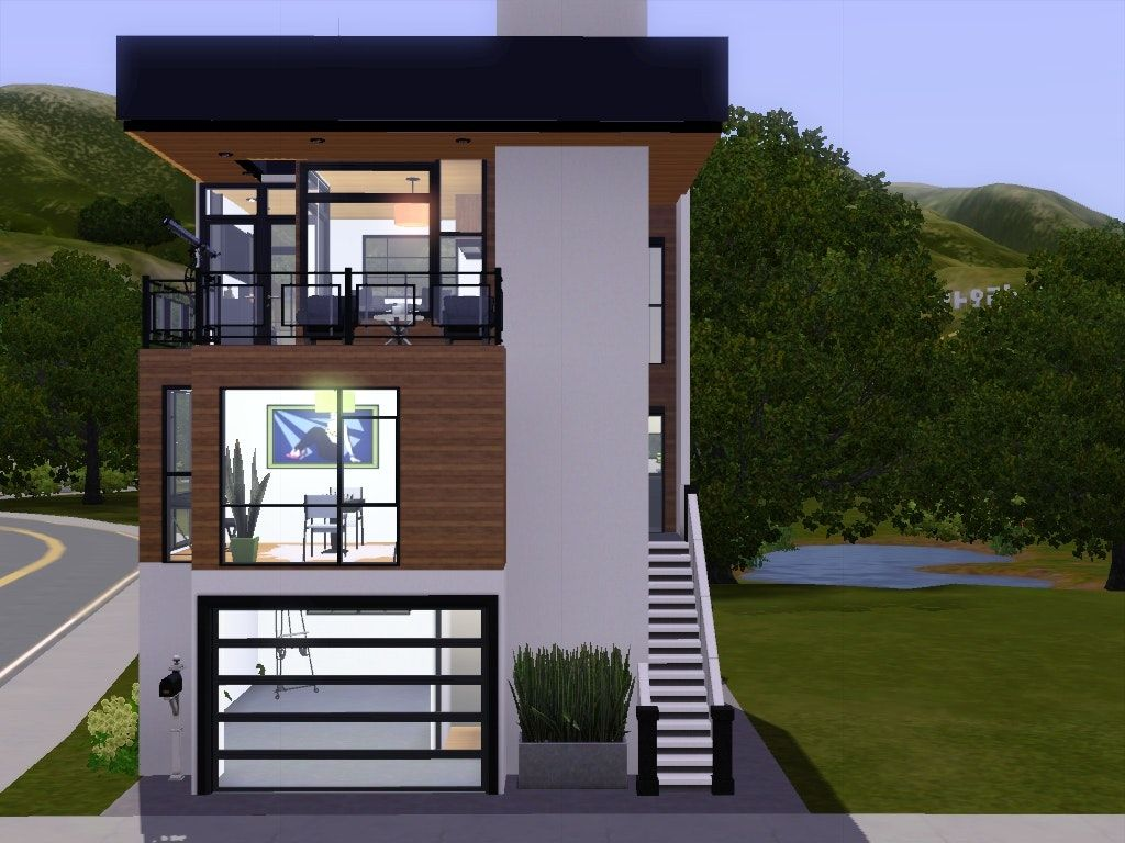 Awesome Home Designs For Small Lots Contemporary Interior Design Contemporary House Plans Narrow Lot House Plans Narrow Lot House