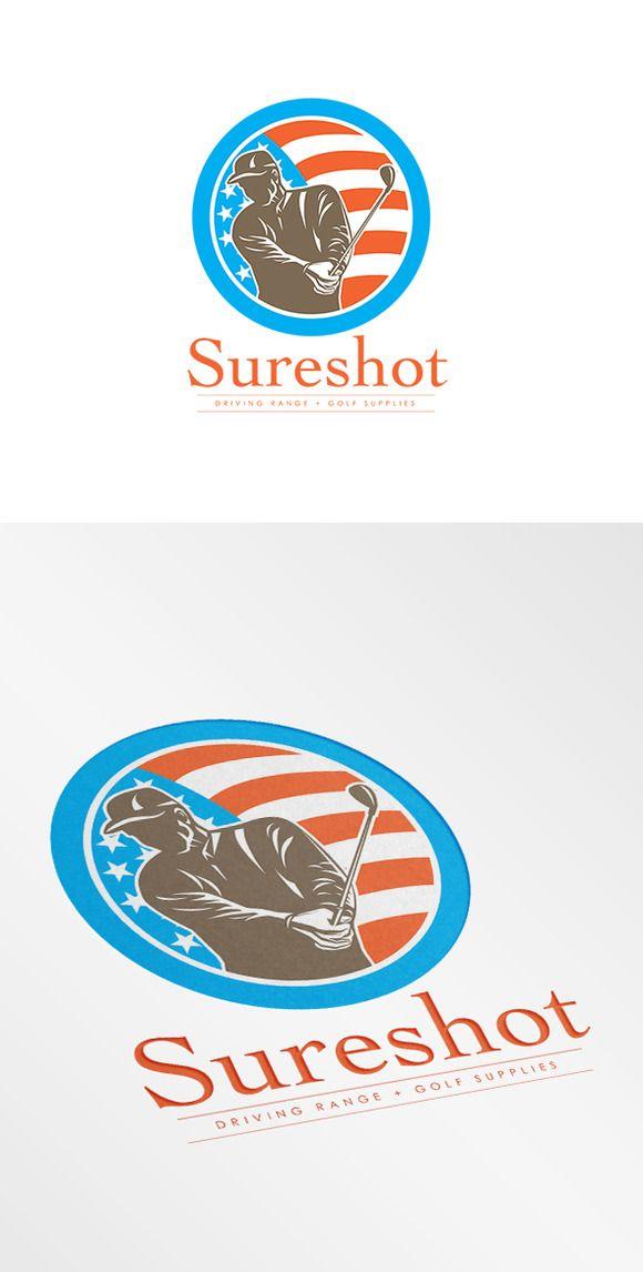 Sureshot Driving Range Logo - Logos - 1