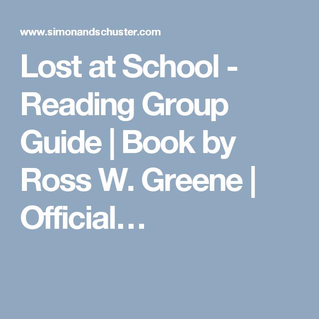 lost at school greene ross w