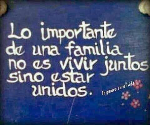 La Importancia De La Familia Frases Buscar Con Google Frases Bonitas Familia Frases Frases Familiares