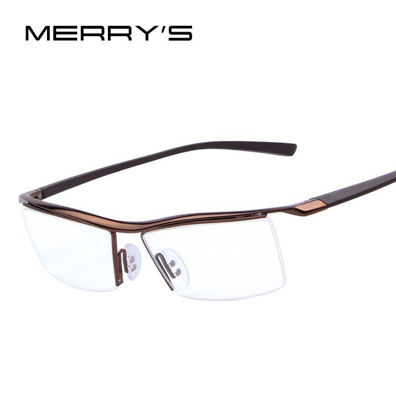 Merry s pria kacamata mode kacamata optik frame kacamata frame rak  komersial bingkai miopia titanium bingkai tr90 dacdc9be3d
