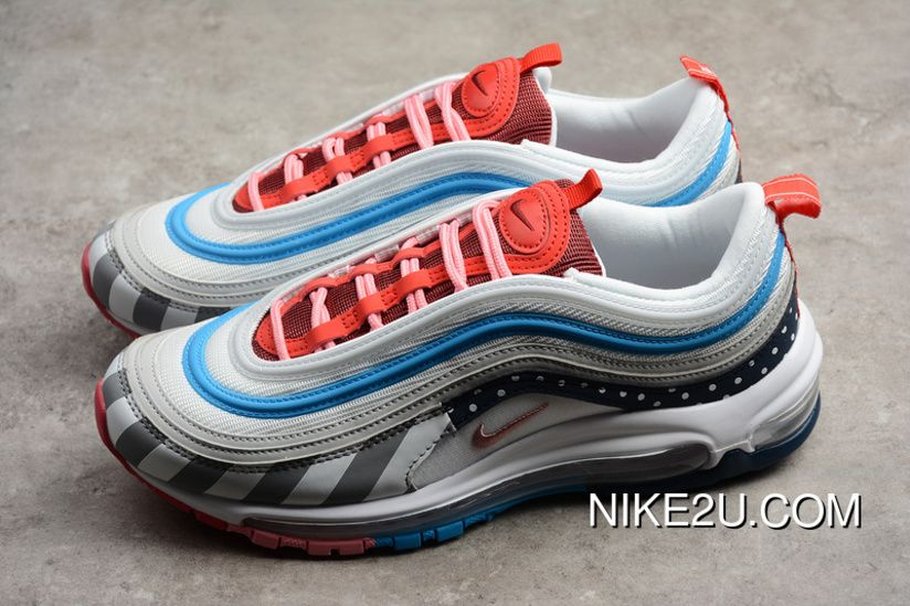 74b959a1dc823 Collaboration Bullet AJ3057-100 Piet Parra X Nike Air Max 97 South Korea  Velvet Material Of Phnom Penh Pure Bullet Breathable Leather Shoes Super  Deals