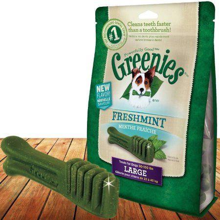 Greenies Freshmint Treat-Pak, L 8 Treats, 12 oz
