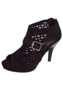 Ankle Boot FiveBlu Nobuck Fivela Preta