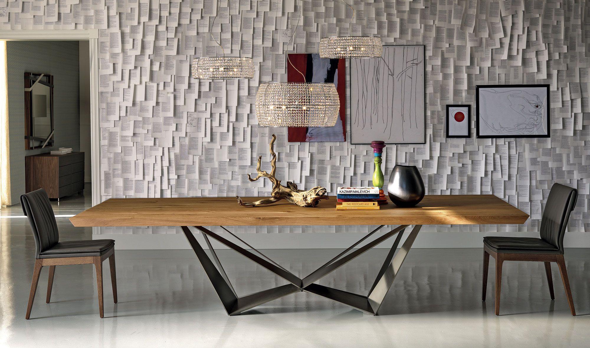 Muebles cosas de arquitectos mesa de comedor moderna - Muebles de comedor de diseno ...
