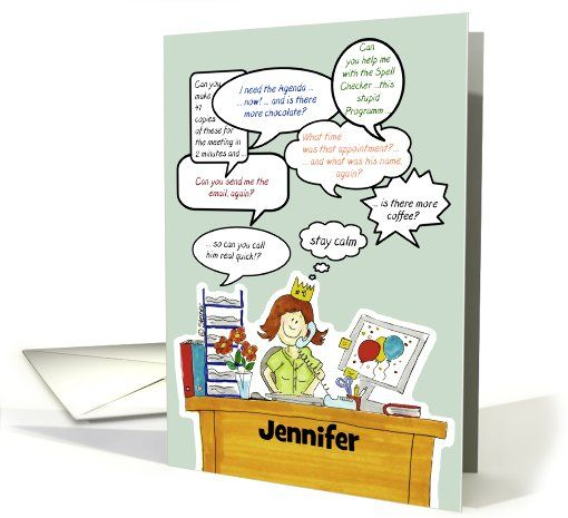Thank You Quotes For Administrative Professionals Day: Humorous Administrative Professionals Day /Secretary