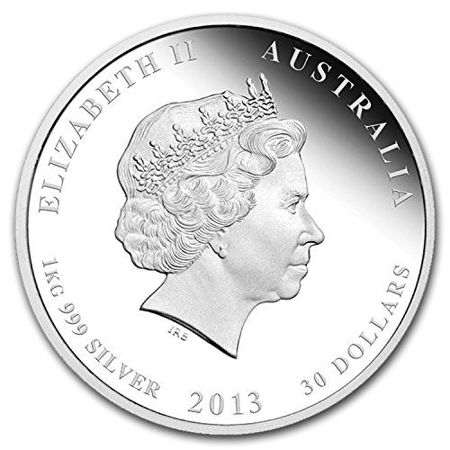 2013 Au Australia 1 Kilo Silver Year Of The Snake Proof Silver Brilliant Uncirculated Check Out The Image By Visiting The Lin Coins Silver Coins Proof Coins
