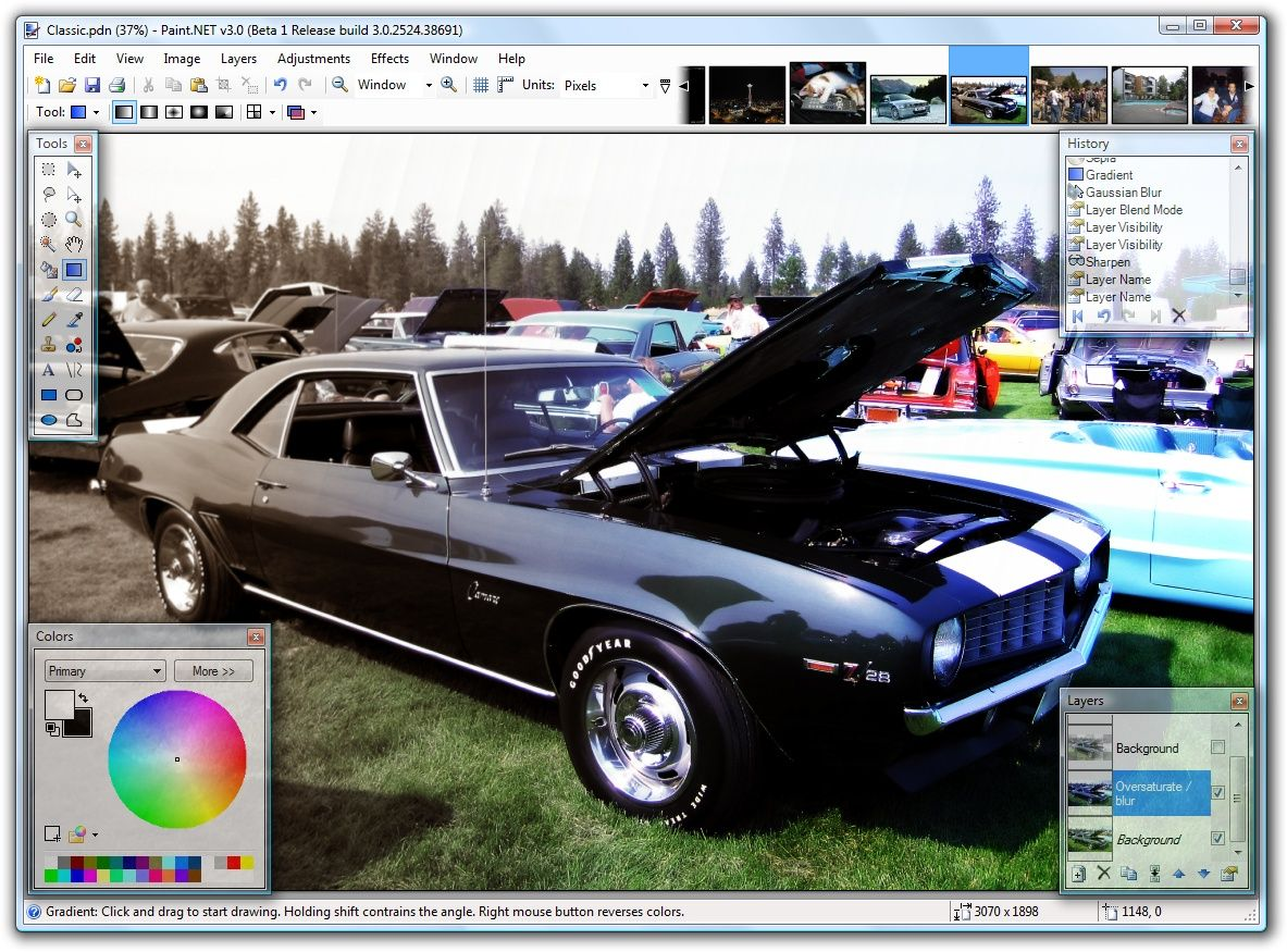 Paint Net Is Free Image And Photo Editing Software For Computers That Run Windows It Fe Free Photo Editing Software Photo Editing Software Free Photo Editing