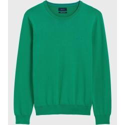 Photo of Gant Cotton Contrast Sweater (Green) GantGant