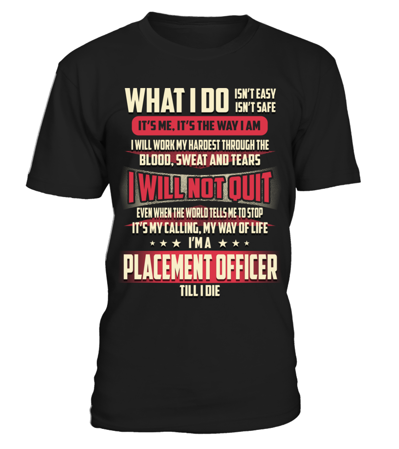 Placement Officer - What I Do