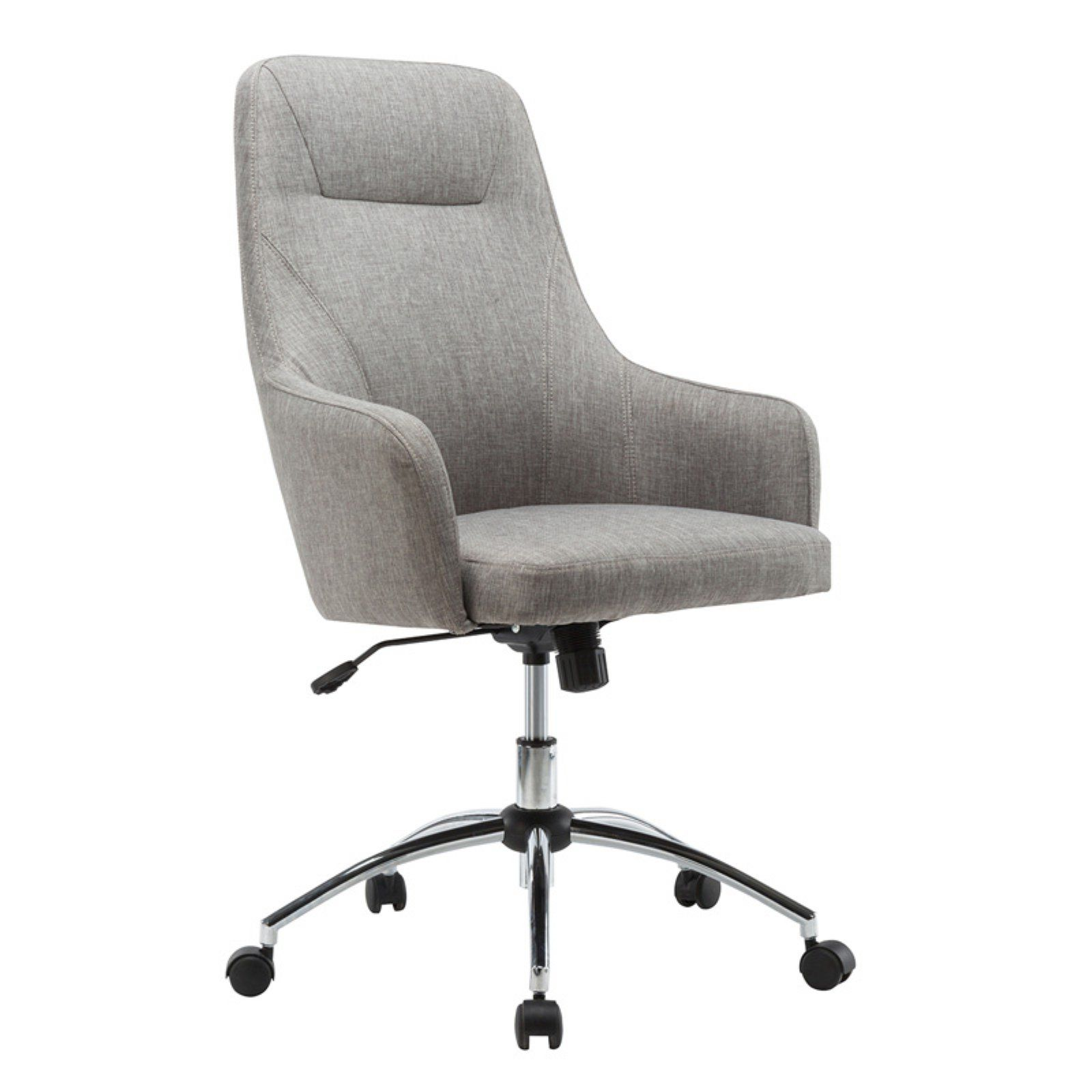 Techni Mobili Comfy Adjustable Height Office Desk Chair With