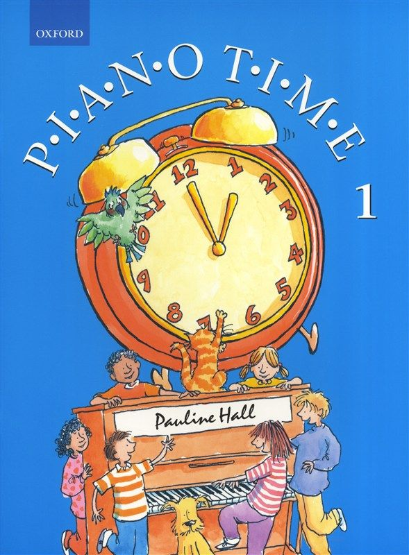 pianolearningsoftware Pauline Hall - Piano Time 1 (2004 Edition - time clock spreadsheet