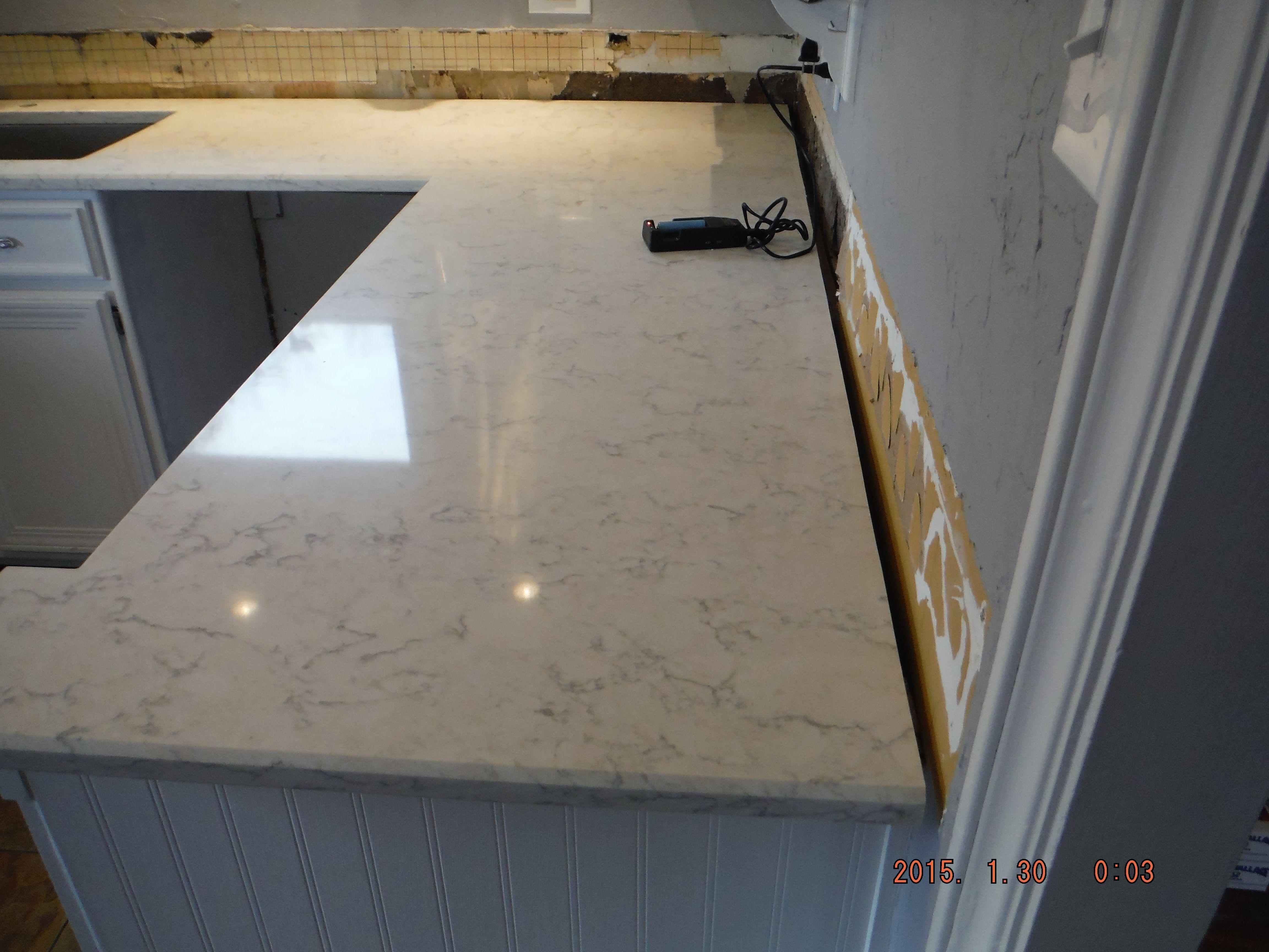 Lq Viatera Minuet Quartz Kitchen Install For The Harvey Family