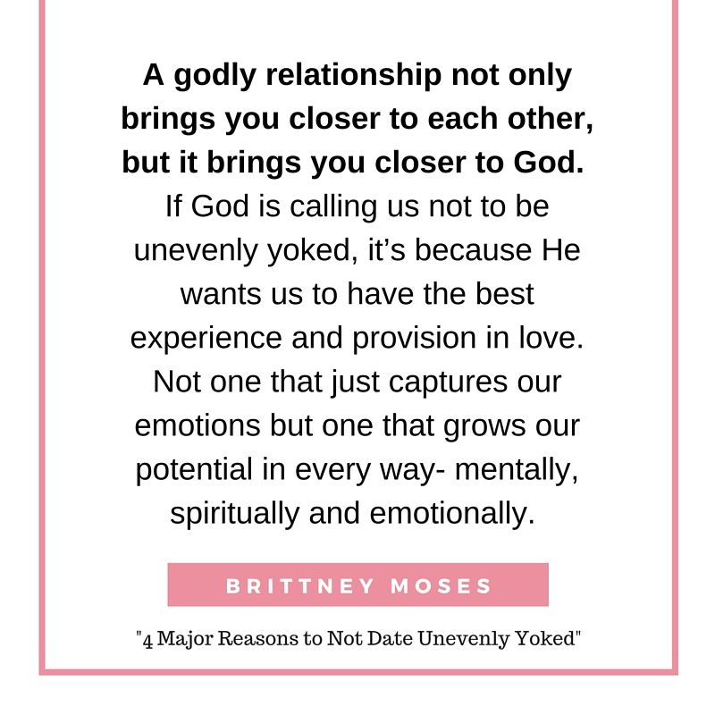Unevenly yoked dating quotes