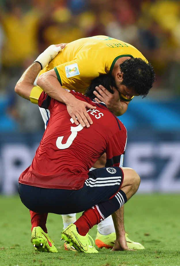 The level of respect was undeniable. | An Open Letter To The Colombian Team
