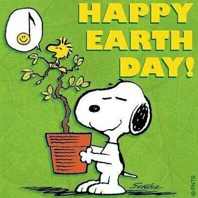 Happy Earth Day Snoooy!