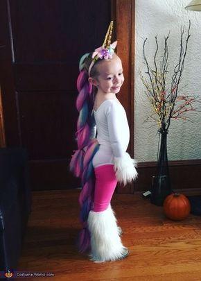 Unicorn - Halloween Kostümwettbewerb bei Costume-Works.com #toddlerhalloween