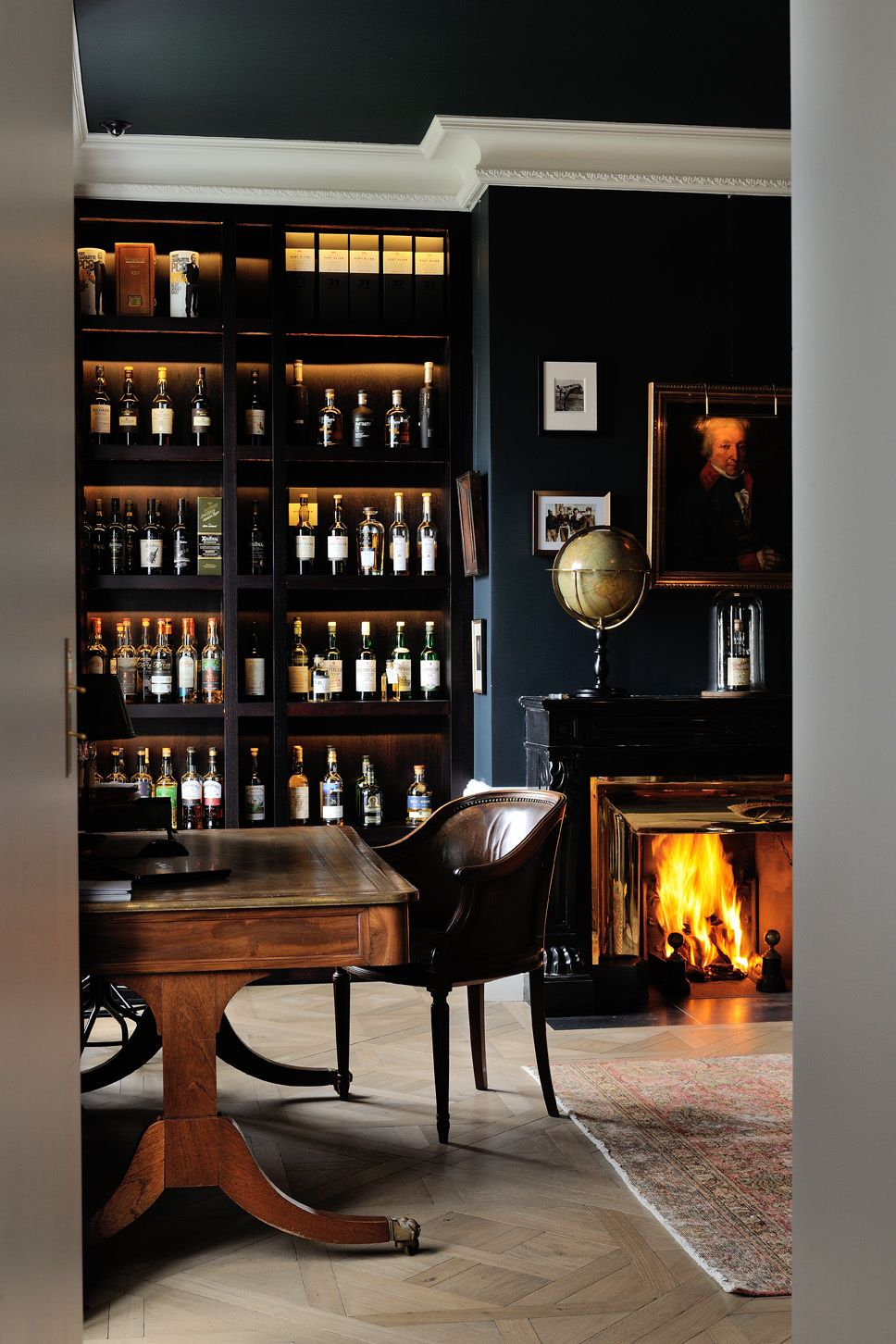 Rnovation architecte intrieur chic luxe appartement Lyon