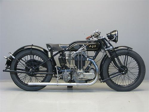 1928 Ajs K8 Classic Bikes Classic Motorcycles Bobber Motorcycle