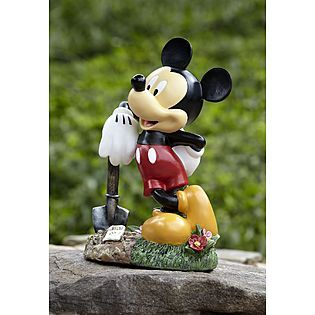 Disney Mickey With Shovel Statue Kmart Item 028w004098819000