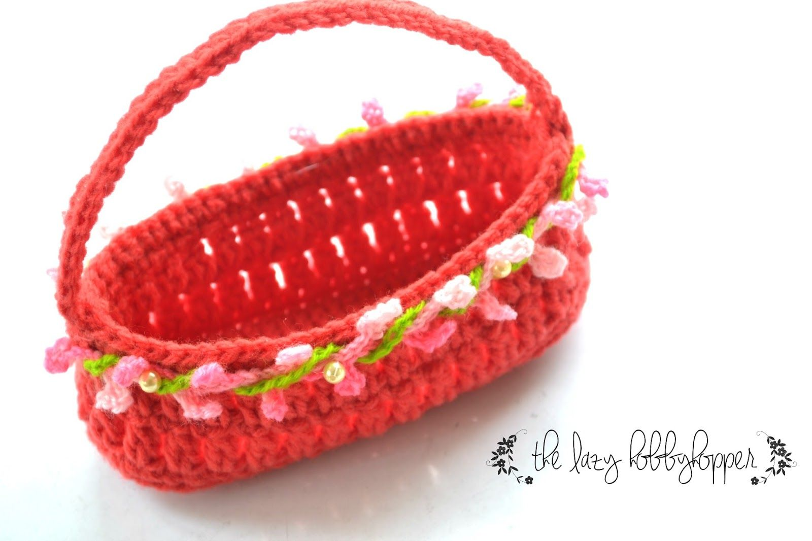 Free pattern - Crochet Easter Basket | crochet | Pinterest