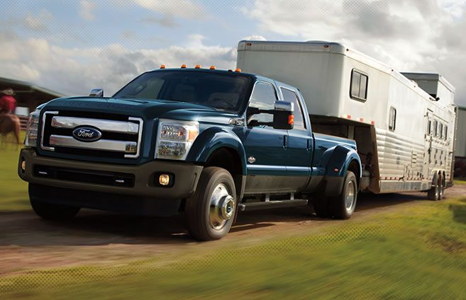 Higher Then Ever Maximum Towing And Payload Super Duty Trucks