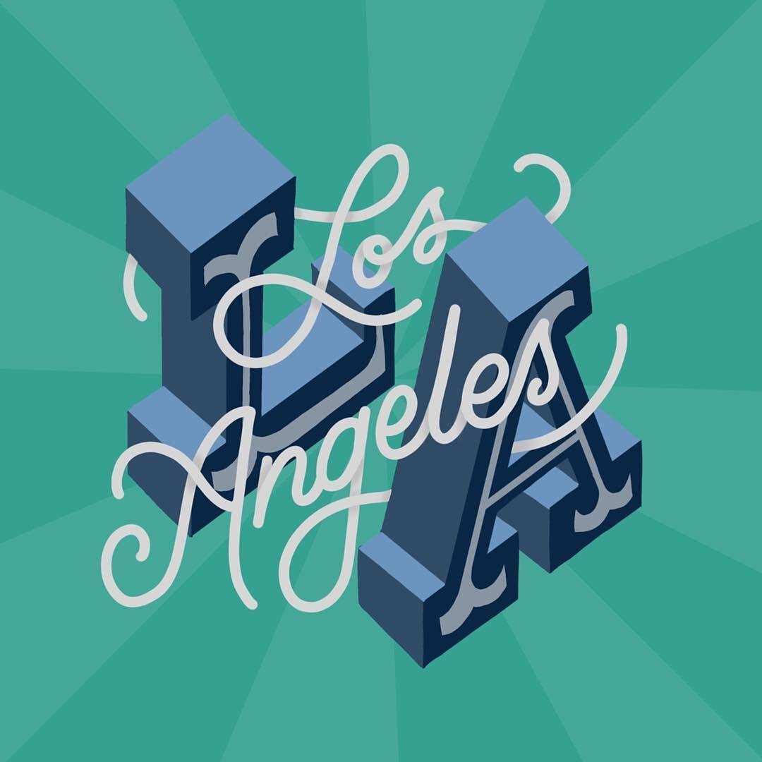 Los Angeles Lettering Types Of Lettering Lettering Design,Clash Of Clans Builder Hall 4 Base Design