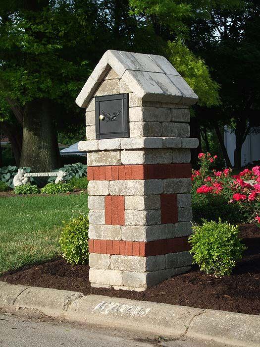 Brick Mailbox Door Outdoor Projects Pinterest Brick 400 x 300