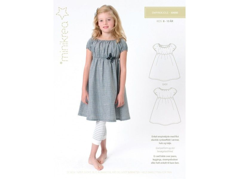 30000- Schnittmuster/Pattern Empire Kleid/Dress | Schnittmuster ...