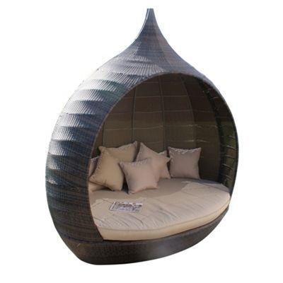 Debenhams Brown \'LA Pear\' outdoor daybed- at Debenhams.ie | home ...