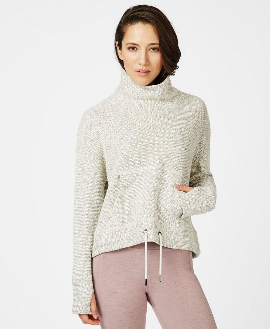 Restful Boucle Sweatshirt - lilywhite | Women's Sweaters + Hoodies | White sweatshirt  women, Sweaty betty, Sweatshirts women