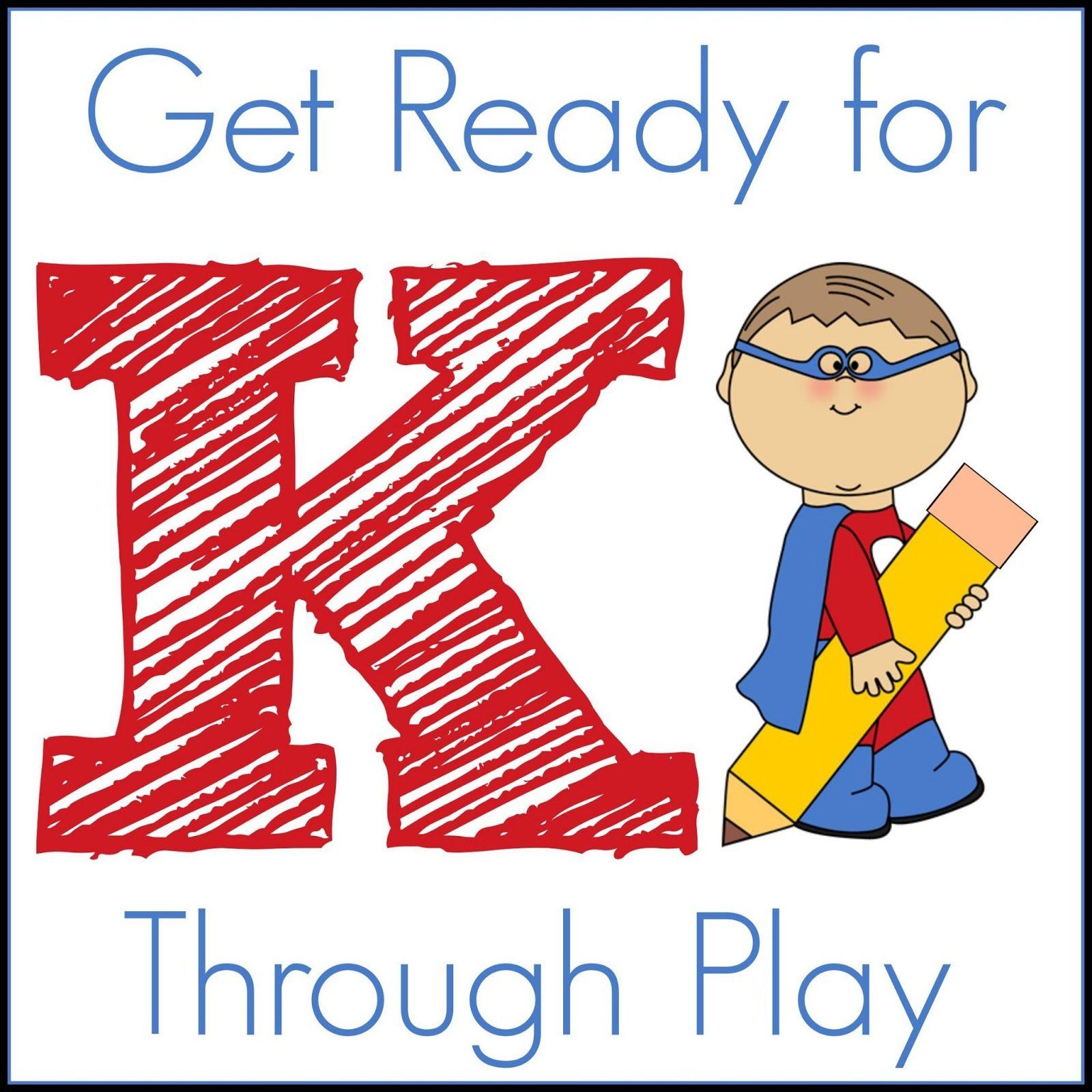 Pre K Quotes Get Ready For Kindergarten Through Play Series  Kindergarten