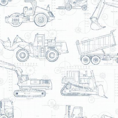 York cool kids construction blueprint sidewall wallpaper ks2350 york cool kids construction blueprint sidewall wallpaper ks2350 malvernweather Choice Image