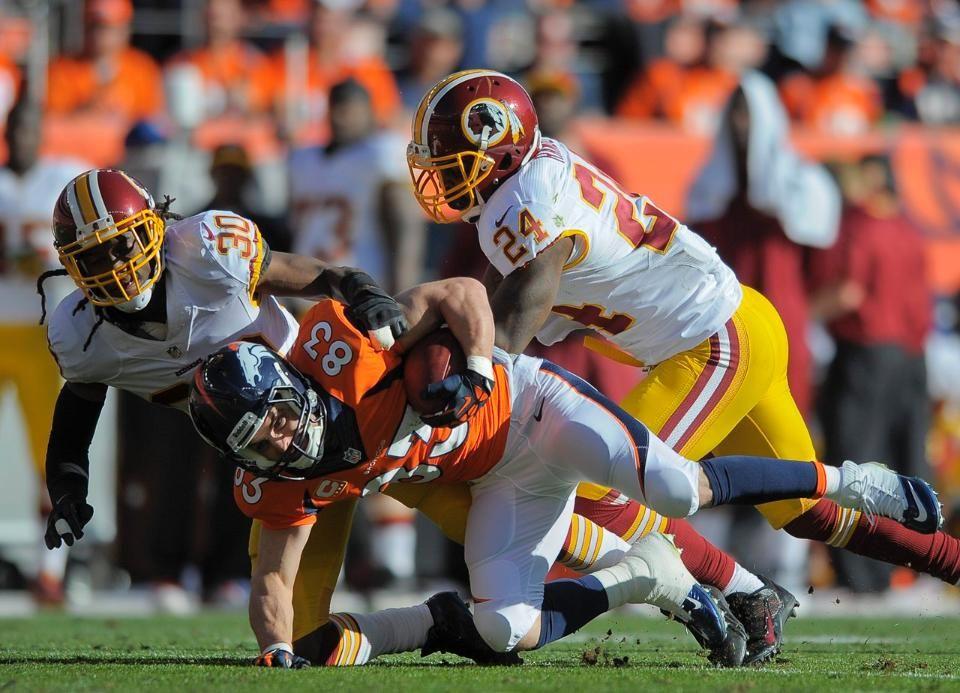 InGame Photos Broncos vs. Redskins Redskins, Broncos