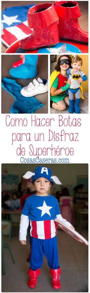 Para completar el disfraz de Capitán América, os enseño dos maneras ...
