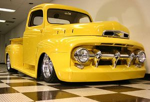 Custom 52 Ford Pickup 1952 Ford F100 Custom Truck Camiones Chevy Camionetas Chevy