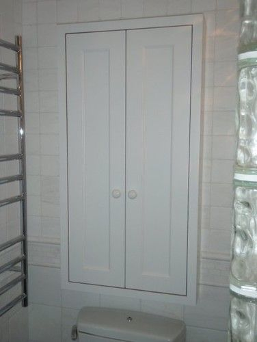 Recessed Cabinet Above Toilet