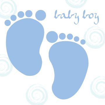 blue baby footprints clipart baby shower pinterest baby rh pinterest nz baby footprints clipart free baby footprint clip art